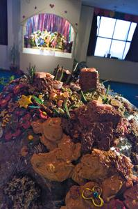 govardhan hill made from sweets 2008-11-16 IMGP2950